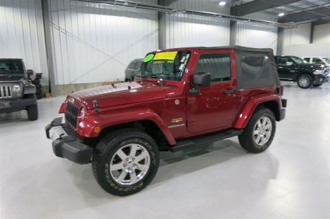 Certified Used Jeep Wrangler Sahara