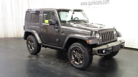 New Jeep Wrangler 75th Anniversary