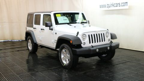 New Jeep Wrangler Unlimited Sport