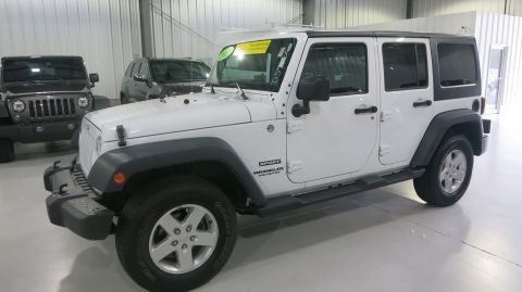 Certified Used Jeep Wrangler Unlimited Sport 4X4
