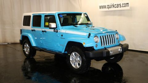New Jeep Wrangler Unlimited Chief Edition