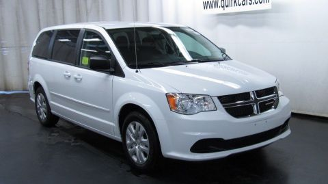 New 2017 Dodge Grand Caravan SE FWD Mini-van, Passenger