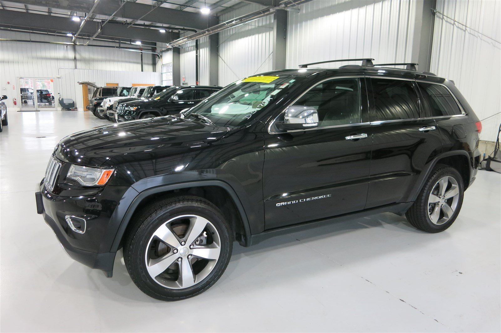 pre owned 2014 jeep grand cherokee limited sport utility in marshfield d5170a quirk chrysler. Black Bedroom Furniture Sets. Home Design Ideas