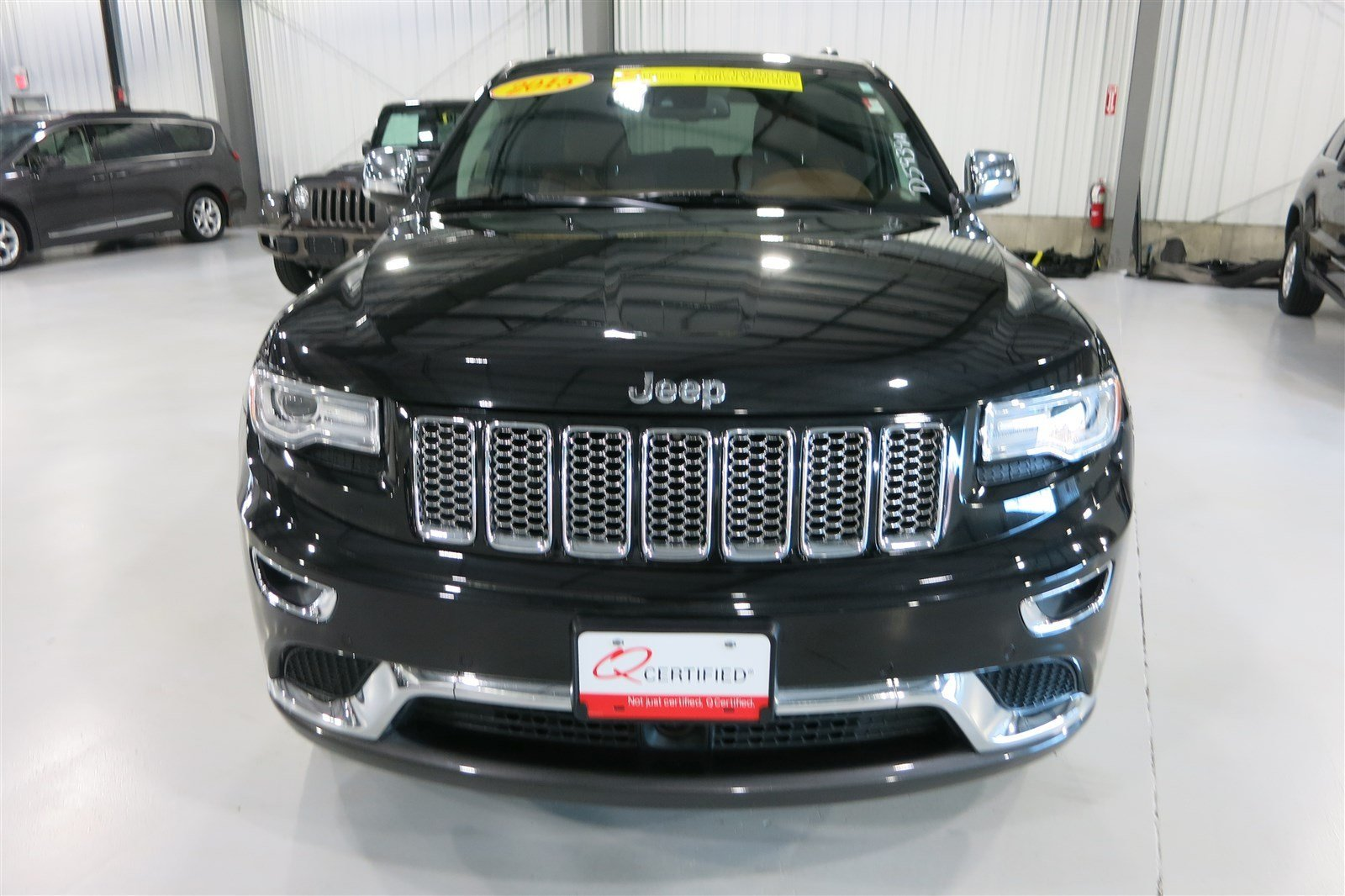pre owned 2015 jeep grand cherokee summit sport utility in marshfield d5939a quirk chrysler. Black Bedroom Furniture Sets. Home Design Ideas