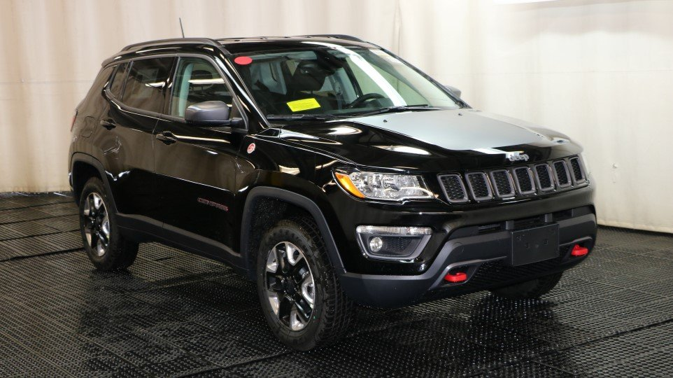 New 2018 JEEP Compass Trailhawk Sport Utility in ...