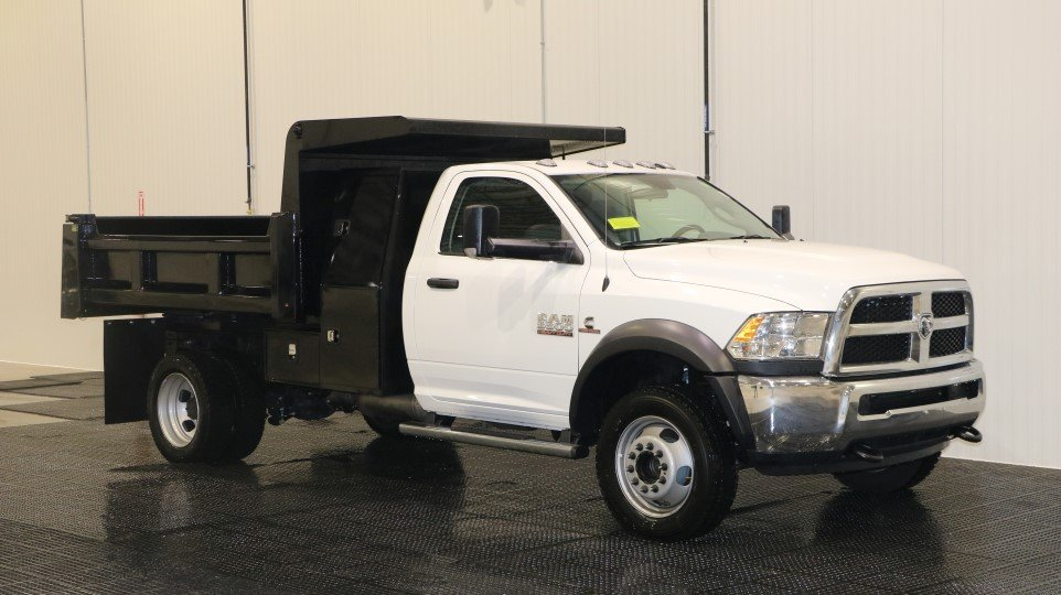 2017 Ram 5500 Tradesman 9' Dump Body w/ Toolbox